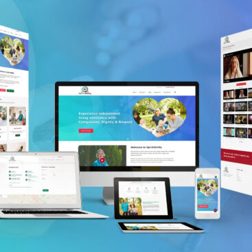 Another website successfully completed for Disability Support Service, SpiritAbility.