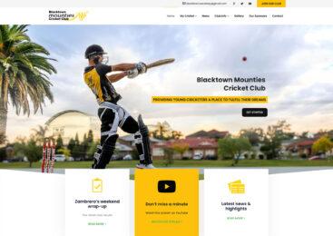 Blacktown Mounties Cricket Club