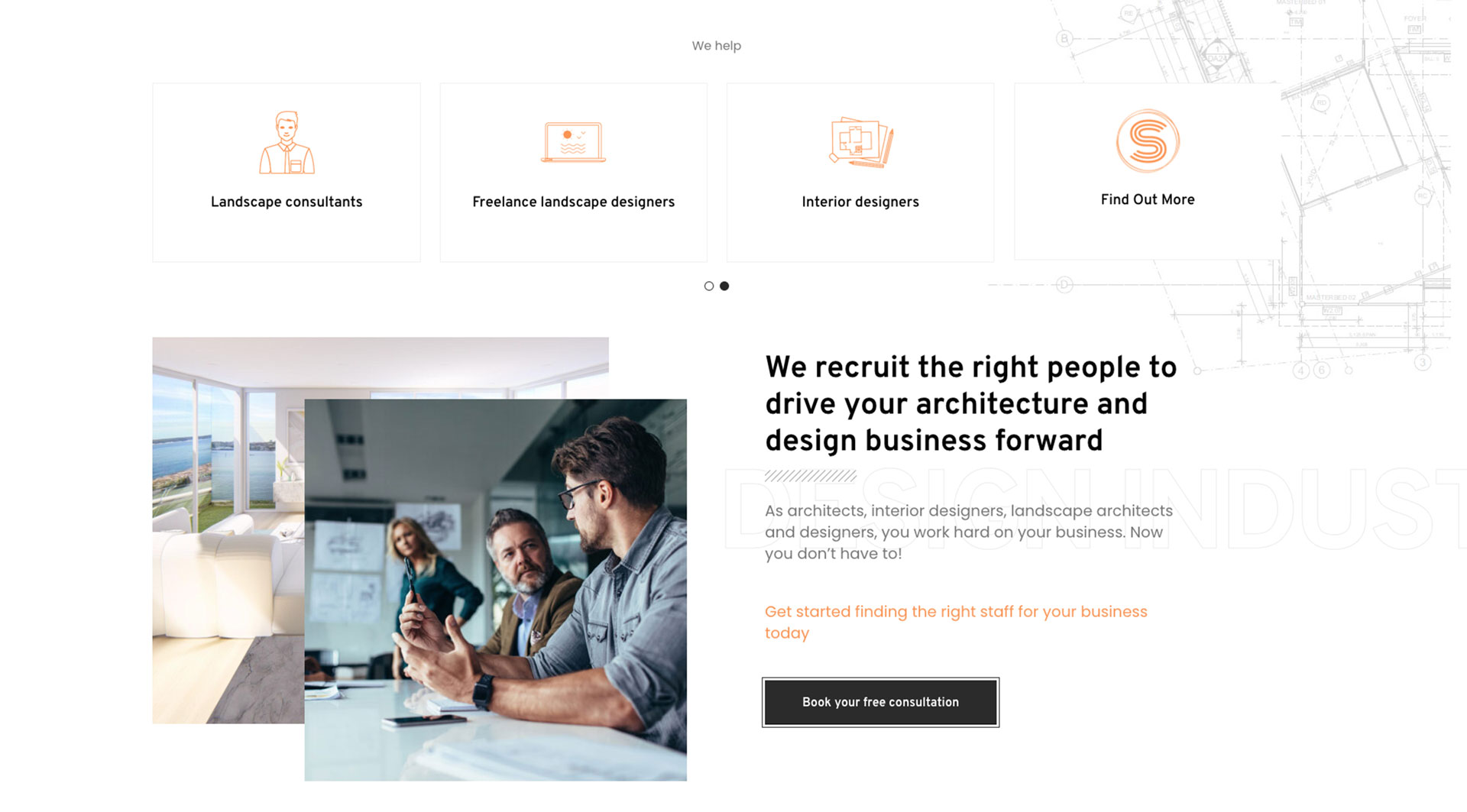 Netplanet Digital Client - Architectural Website design and development