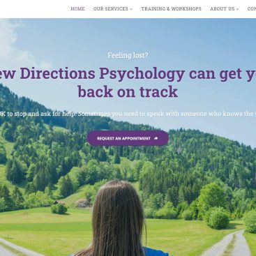 Netplanet Digital Portfolio - New Directions Psychology