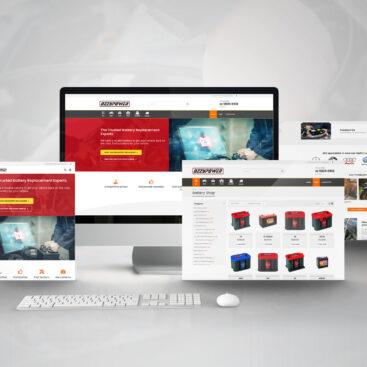 Responsive Website Design - Ozzy Power - Netplanet Digital Client